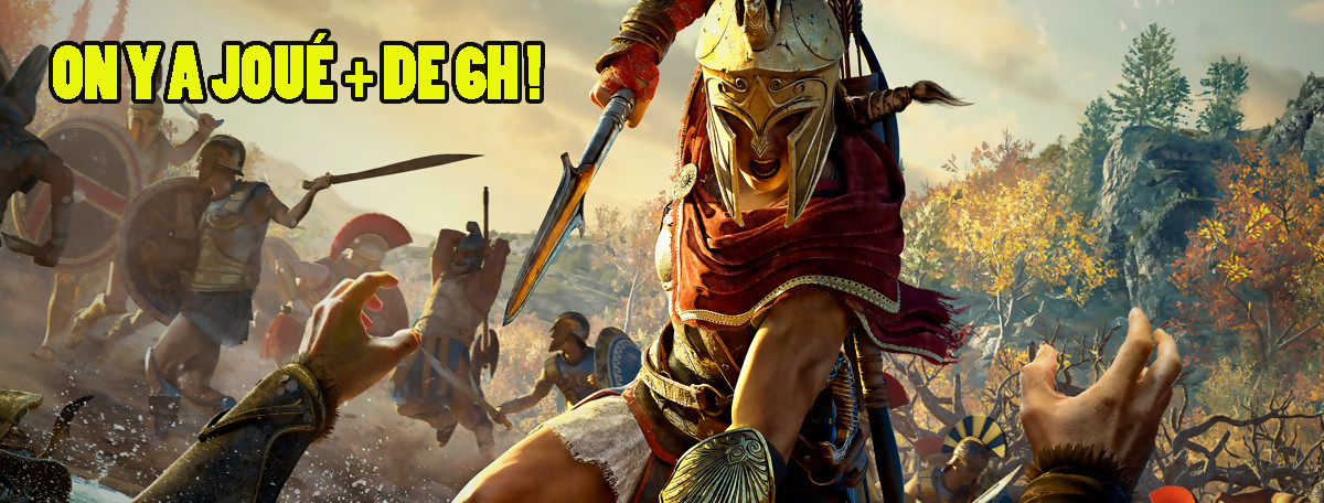 Assassin's Creed Odyssey : nos impressions rassurantes après 6h de jeu