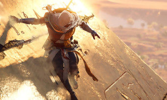 Assassin's Creed Origins : du gameplay dans les pyramides