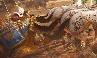 Assassin's Creed Origins : gameplay des courses de chevaux