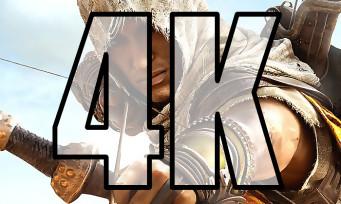Assassin's Creed Origins : téléchargez le patch pour jouer en 4K