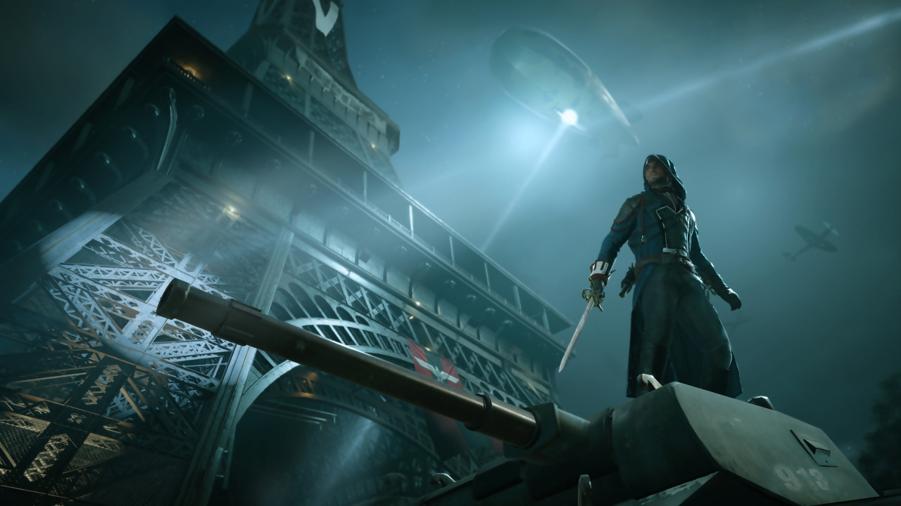 Test assassin 39 s creed unity sur ps4 et xbox one for Assassin s creed sfondi