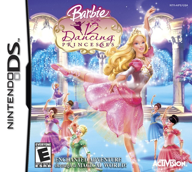 Jaquettes Barbie Au Bal Des 12 Princesses