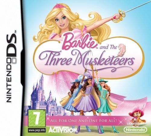 Jaquettes barbie et les trois mousquetaires - Barbie les 3 mousquetaires ...