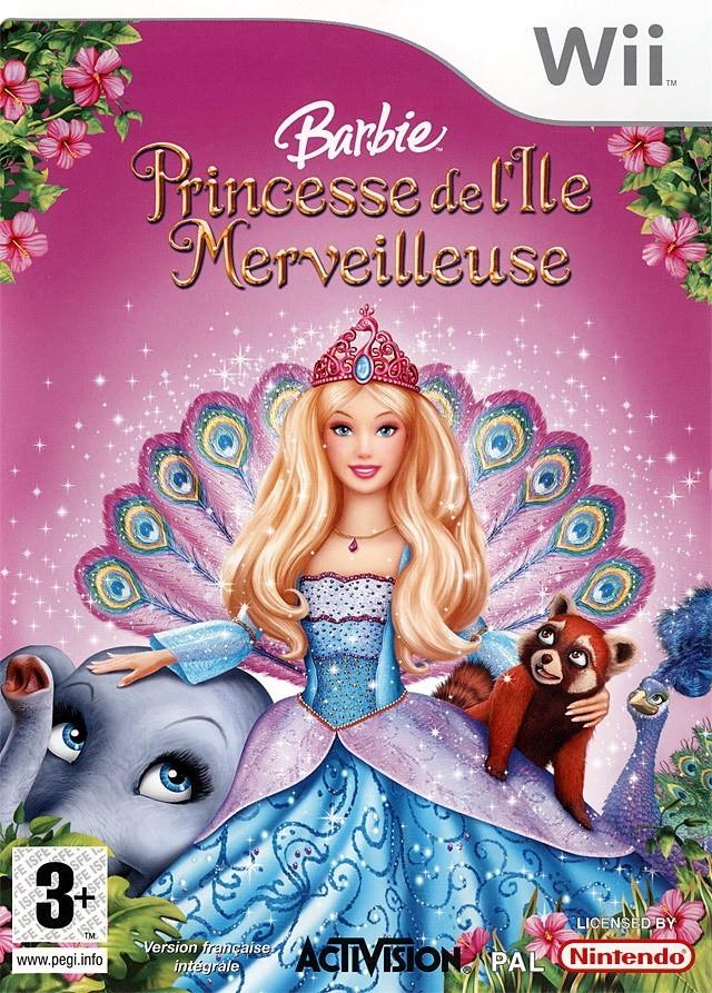 Jaquettes barbie princesse de l 39 le merveilleuse - Jeux de princesse barbie sirene ...