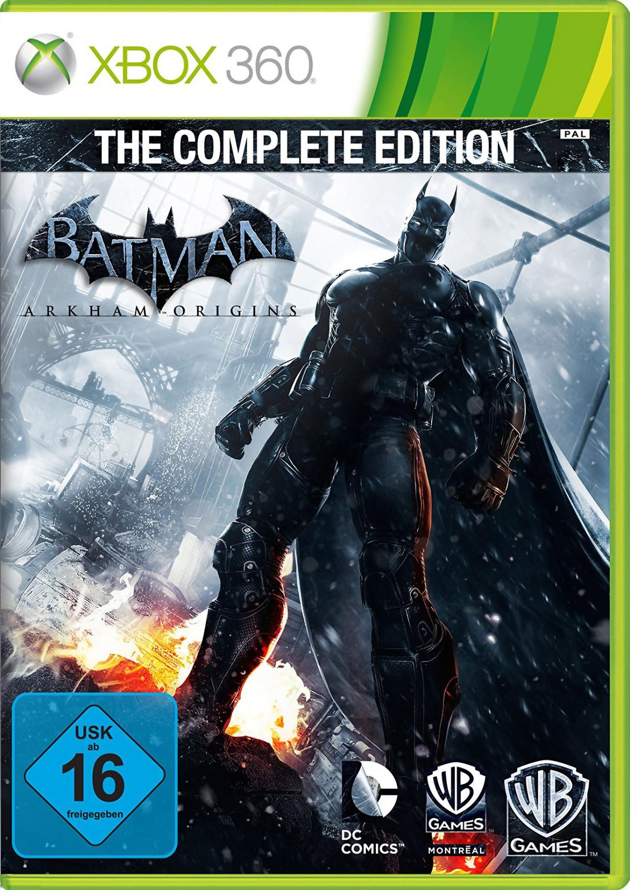 batman arkham origins complete edition toutes les nouveaut s du jeu. Black Bedroom Furniture Sets. Home Design Ideas