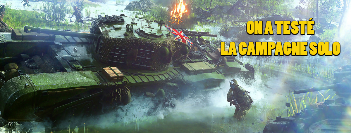Battlefield 5 : on a testé la campagne solo, le truc que n'a pas Call of Duty