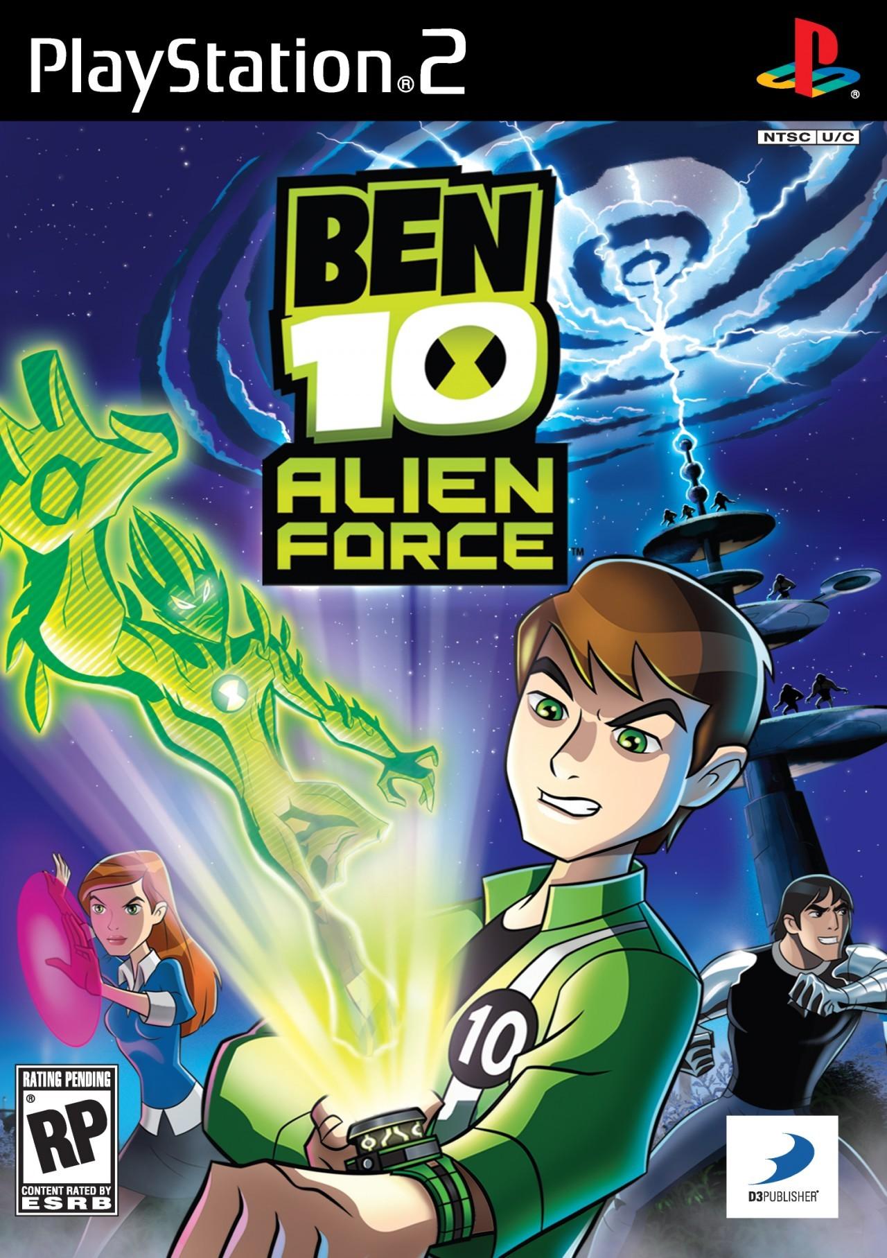 Jaquettes ben 10 alien force - Jeux info ben 10 ...