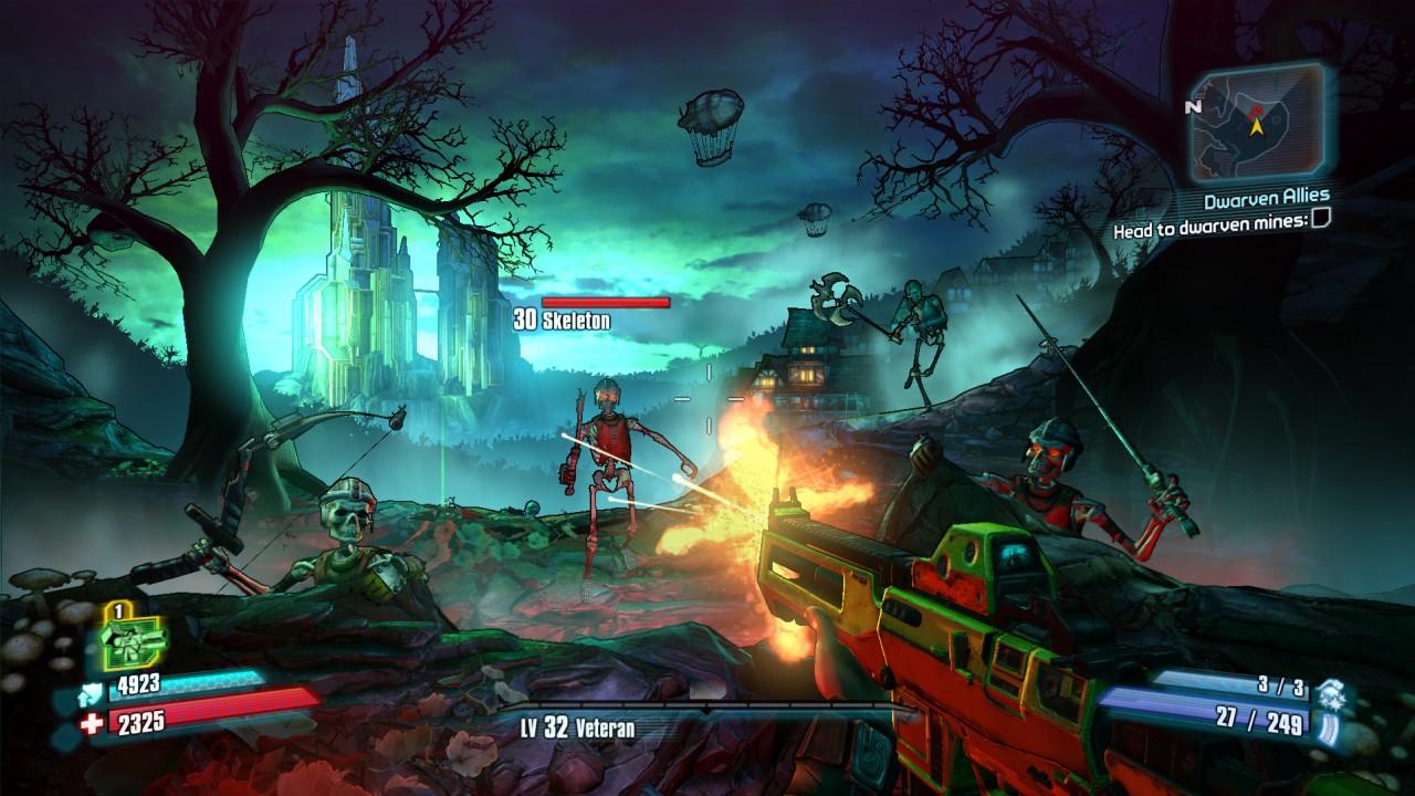 Borderlands 2 : les premières images du DLC avec Tiny Tina Borderlands 2 Scaling Dlc Uvhm