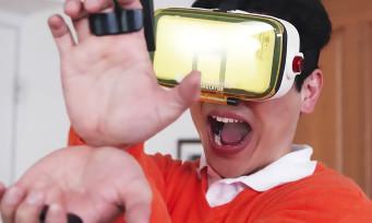 VR Dragon Ball Z : un jeu en réalité virtuelle pour faire de vrais Kaméhamé