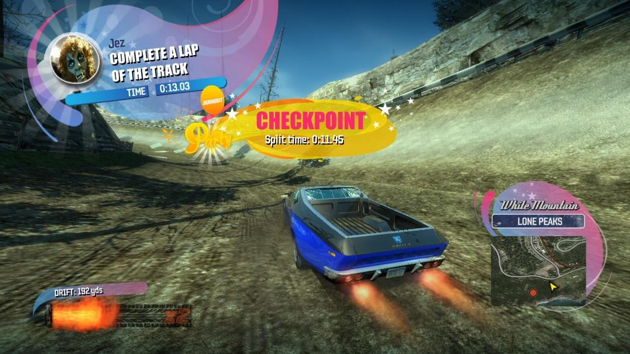 Burning Horizon Car Game