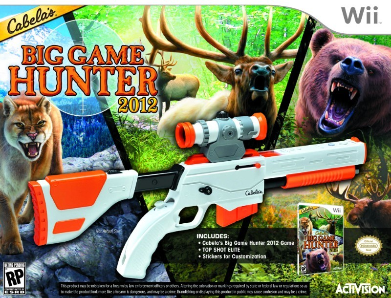 Cabela's Big Game Hunter 2012 révélé