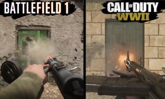 Call of Duty WW2 vs Battlefield 1 : qui a les plus beaux graphismes ?