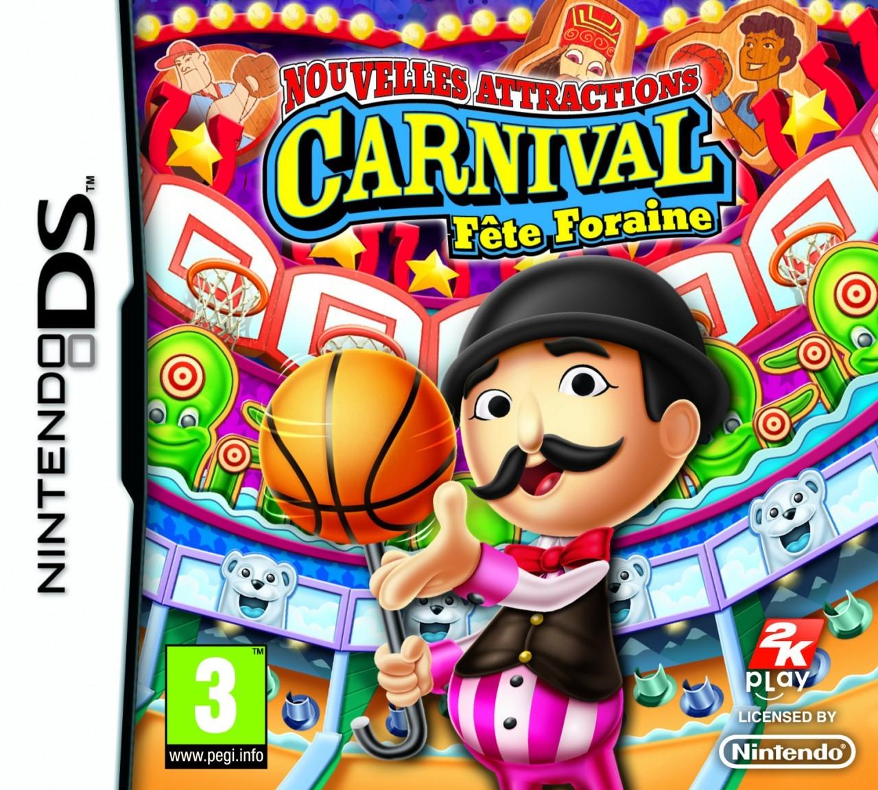 Carnival Fête Foraine : Nouvelles Attractions