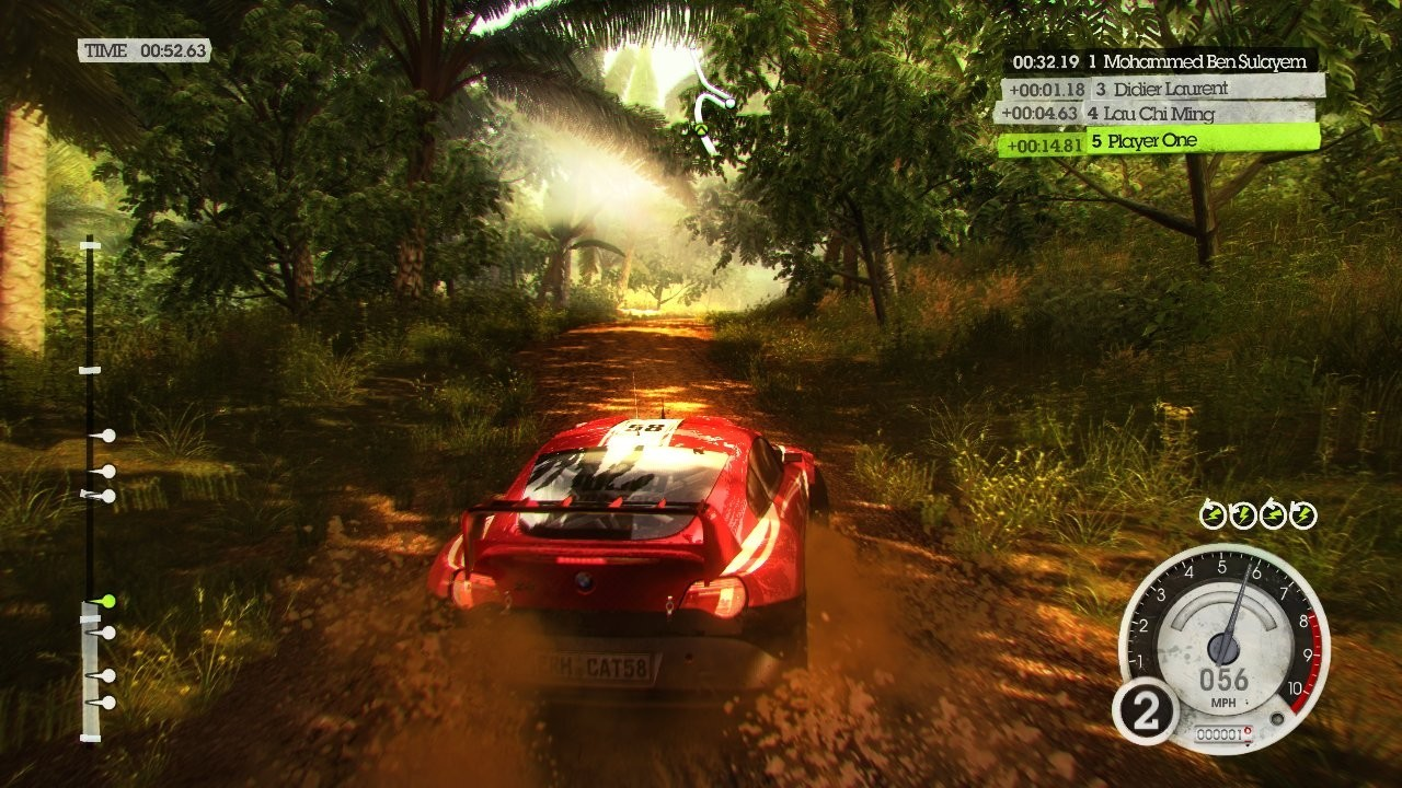 le jump jam dans colin mcrae dirt 2. Black Bedroom Furniture Sets. Home Design Ideas