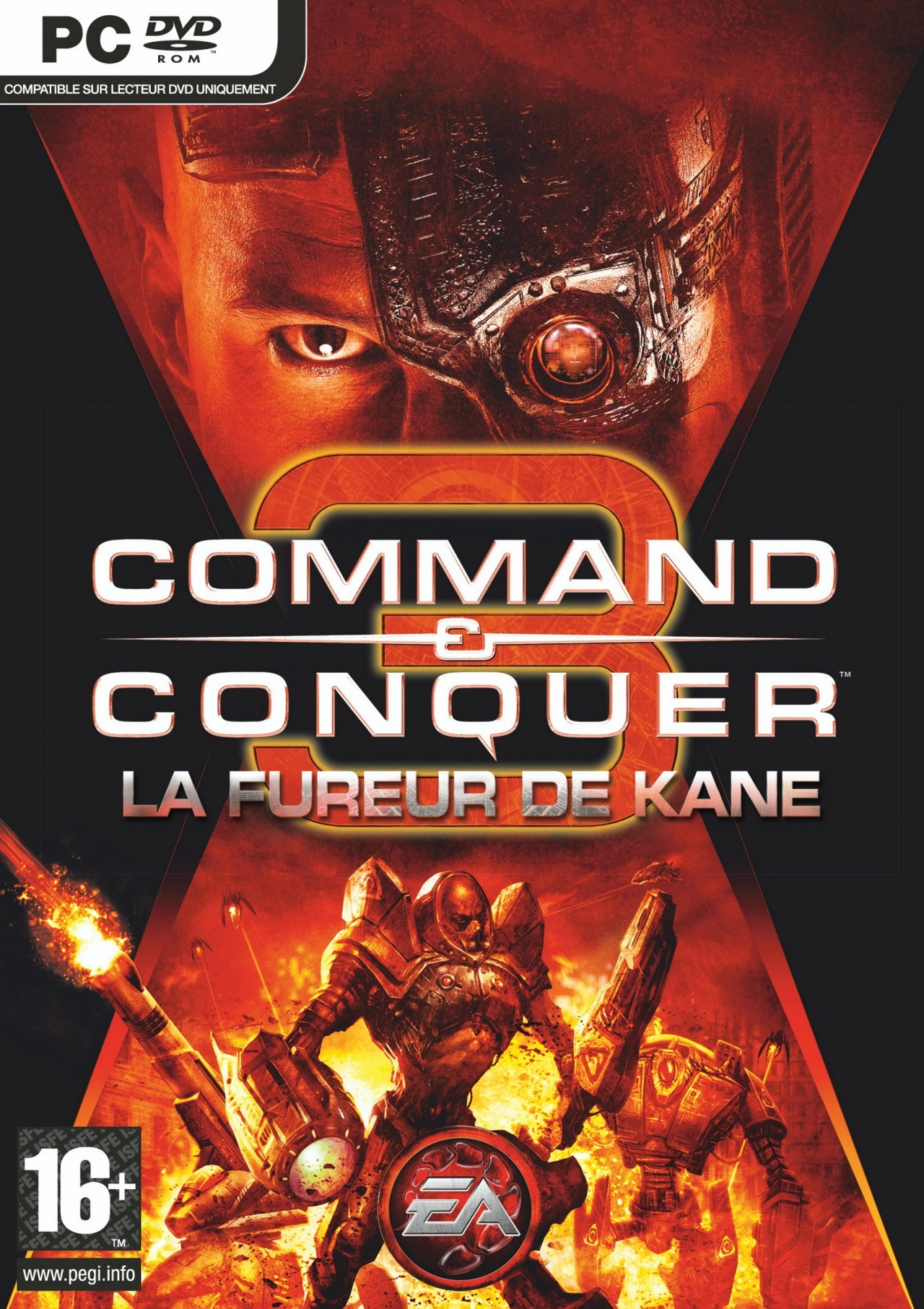Command & Conquer 3 Kane's Wrath + patch v1.01 + NoDVD + KeyGen