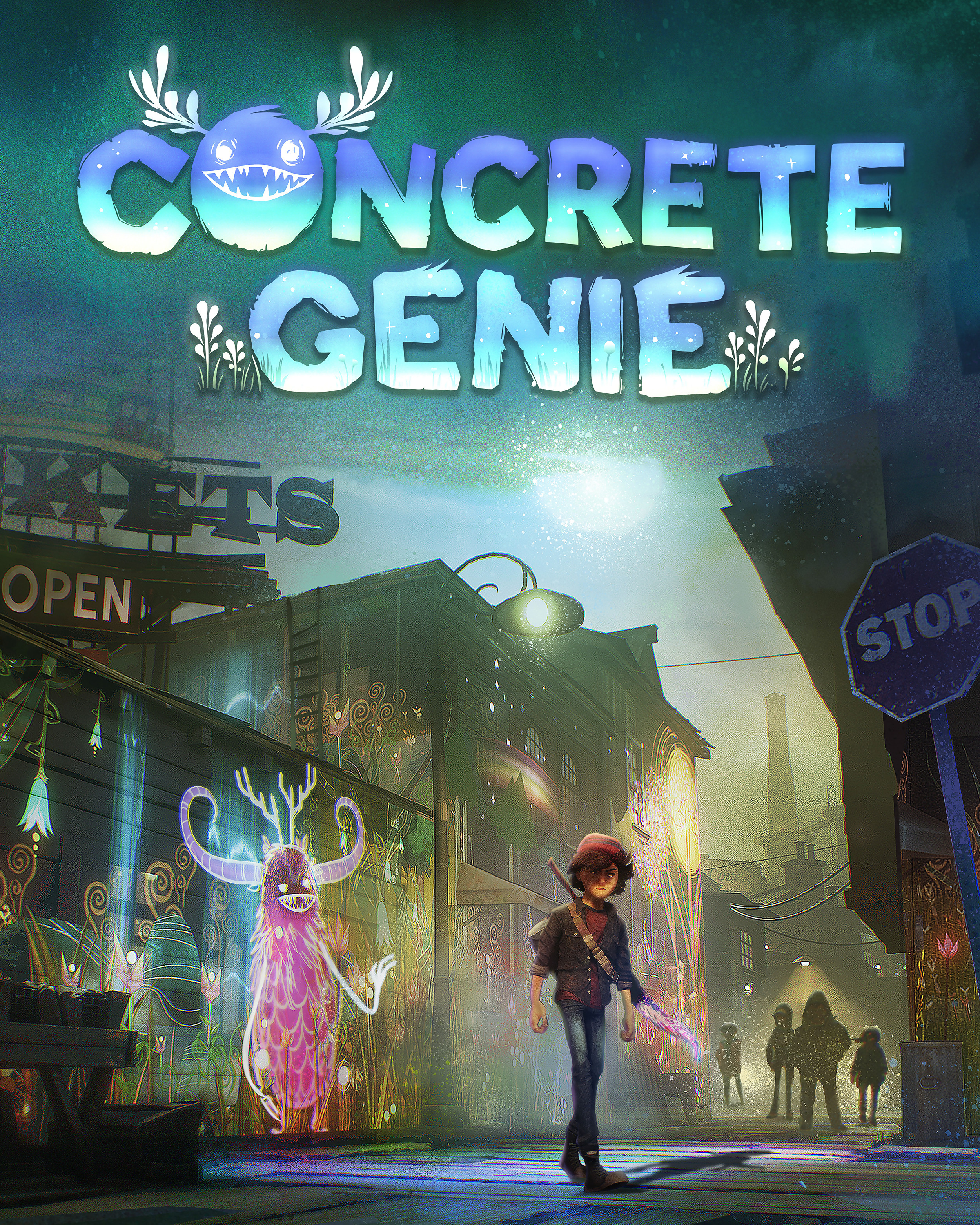 concrete genie 12 minutes de gameplay au playstation. Black Bedroom Furniture Sets. Home Design Ideas
