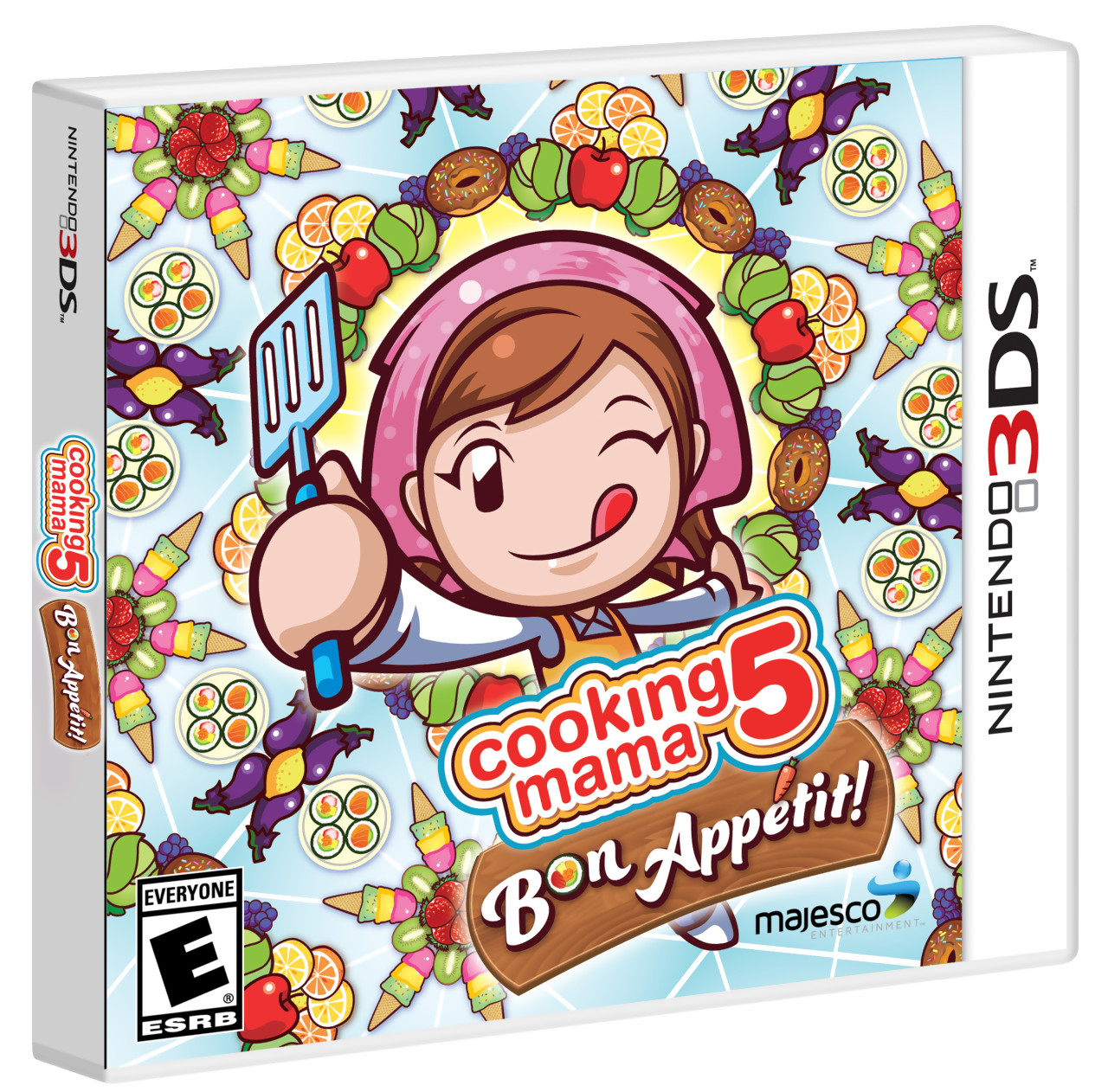 Jaquettes cooking mama bon app tit for Mama s italian kitchen