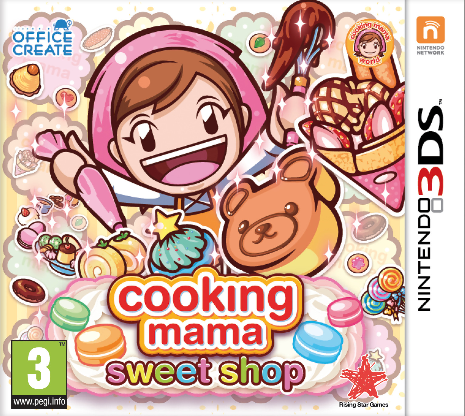 Cooking mama sweet shop trailer de gameplay sur 3ds - Jeu de cuisine cooking mama ...