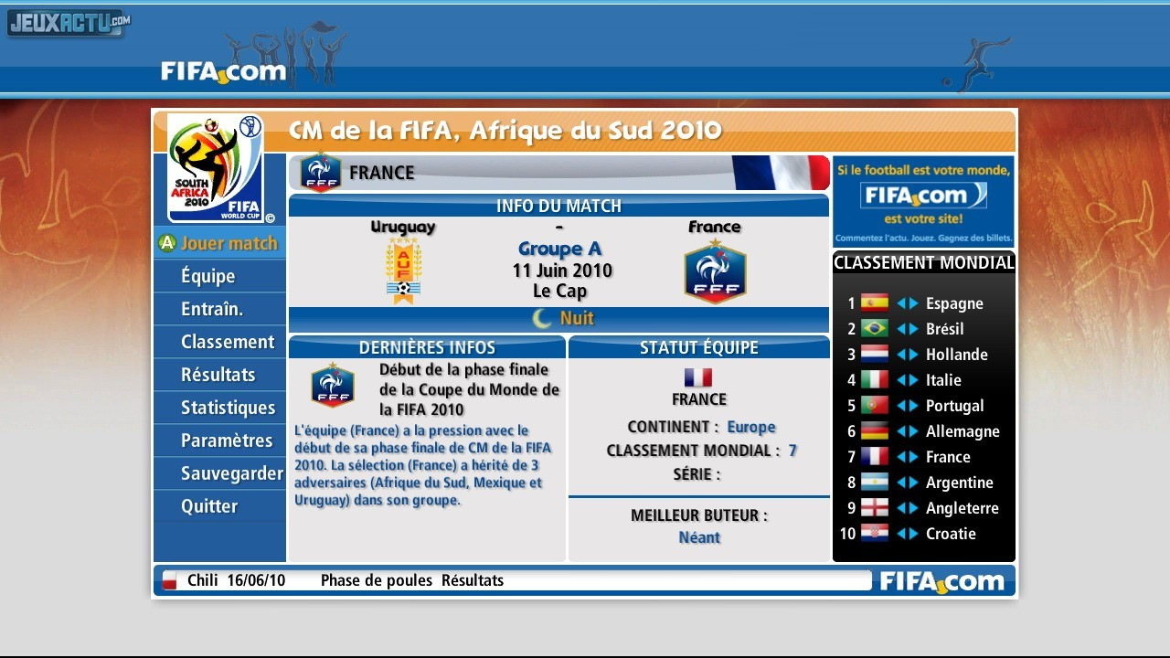 Images coupe du monde de la fifa afrique du sud 2010 page 4 - Jeux de foot de la coupe du monde ...