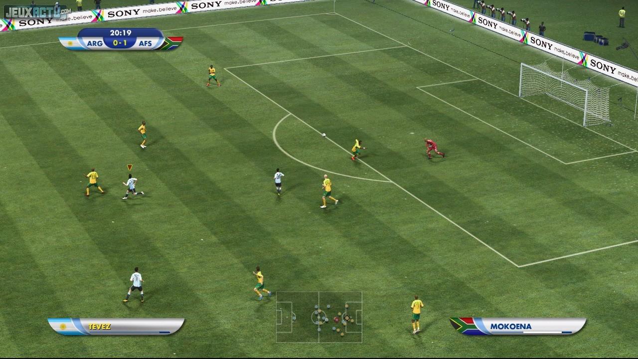 Test coupe du monde de la fifa afrique du sud 2010 - Jeux de foot de la coupe du monde ...