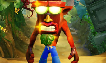 Crash Bandicoot N.Sane Trilogy : le trailer du niveau inédit Stormy Ascent