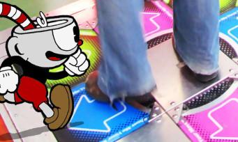 Cuphead : il finit le jeu avec un tapis Dance Dance Revolution