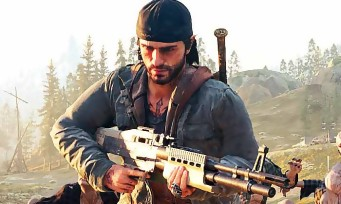 Days Gone : une longue vidéo de gameplay en pleine forêt