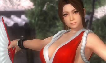 Dead or Alive 5 Last Round : trailer de Mai Shiranui (The King of Fighters)