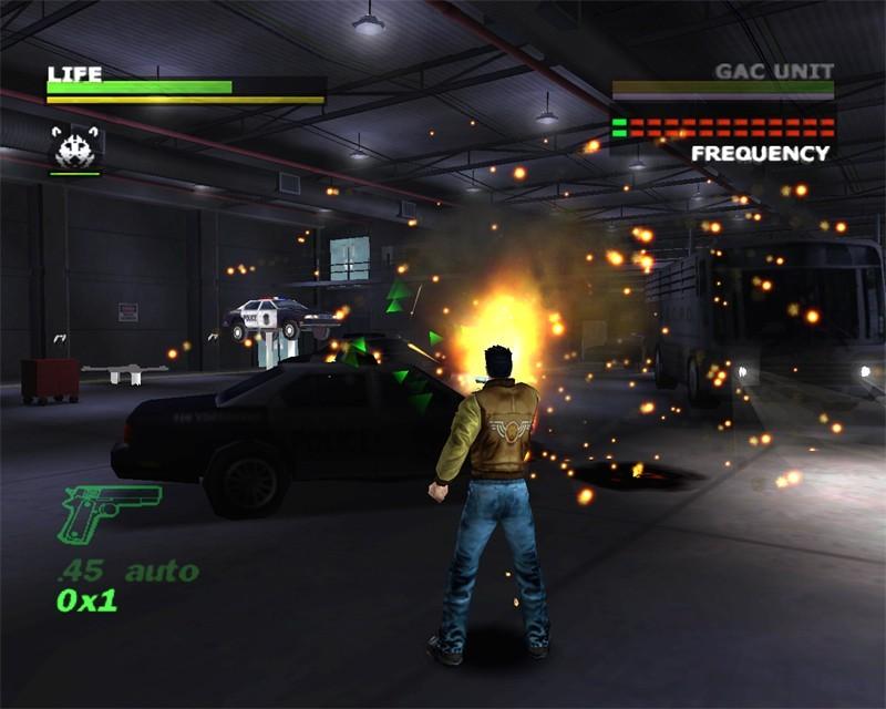 Скриншот из игры Dead to Rights.