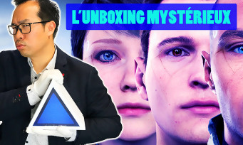 Detroit Become Human : notre unboxing du press kit triangulaire