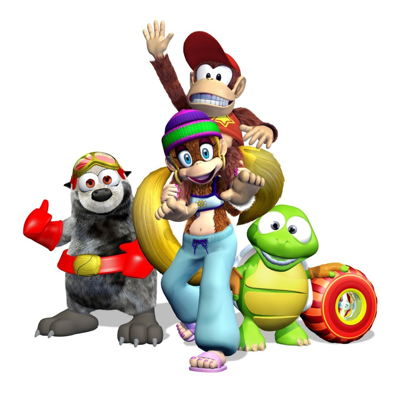 Artworks Diddy Kong Racing DS