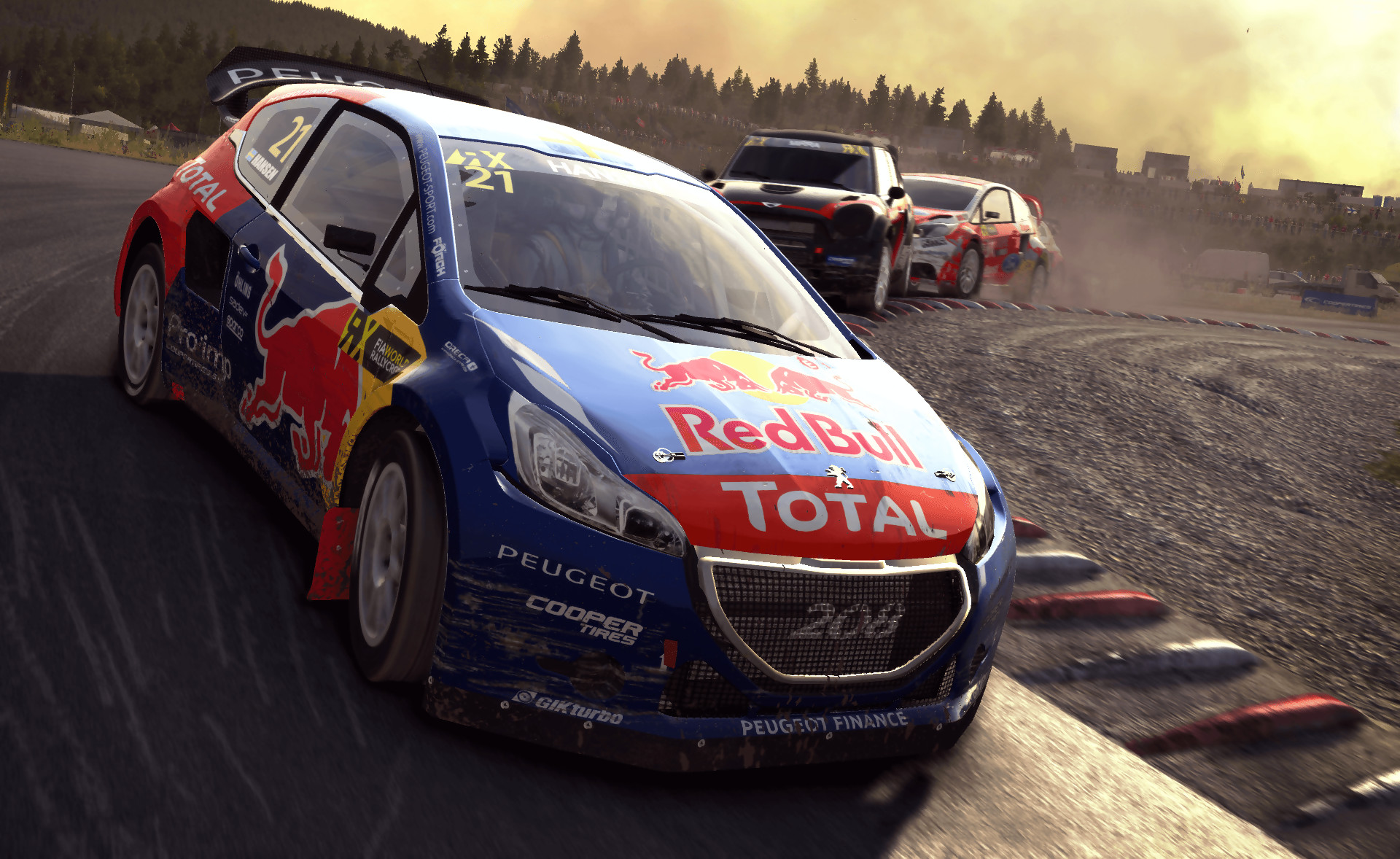 test dirt rally sur ps4 et xbox one. Black Bedroom Furniture Sets. Home Design Ideas
