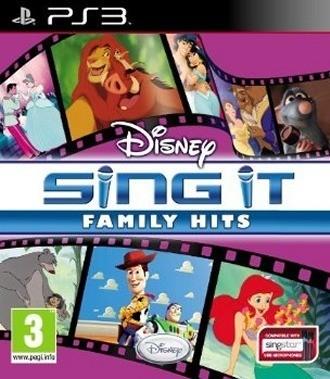 Jaquettes Disney Sing It : Les Plus Belles Chansons des Films Disney