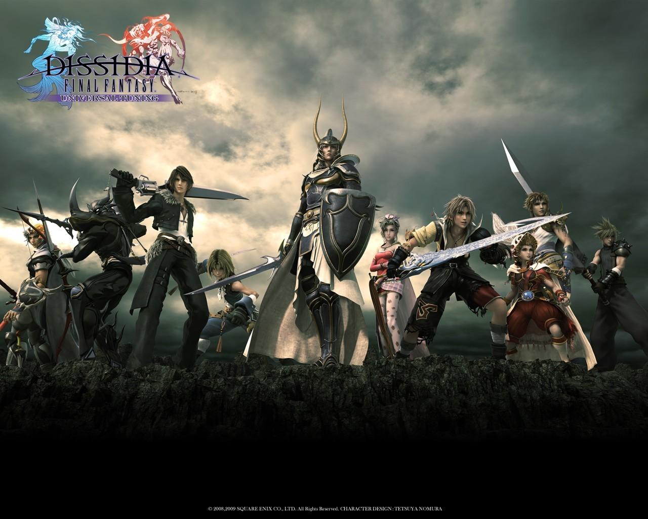 Final Fantasy x Artwork Artworks Dissidia Final
