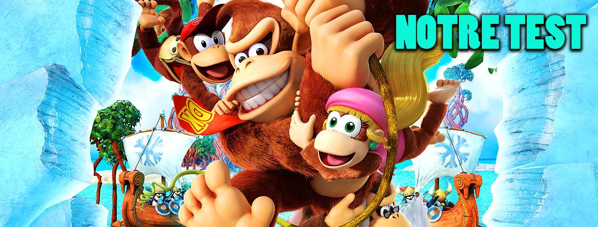 Test Donkey Kong Country Tropical Freeze : la même chose sur Switch ?
