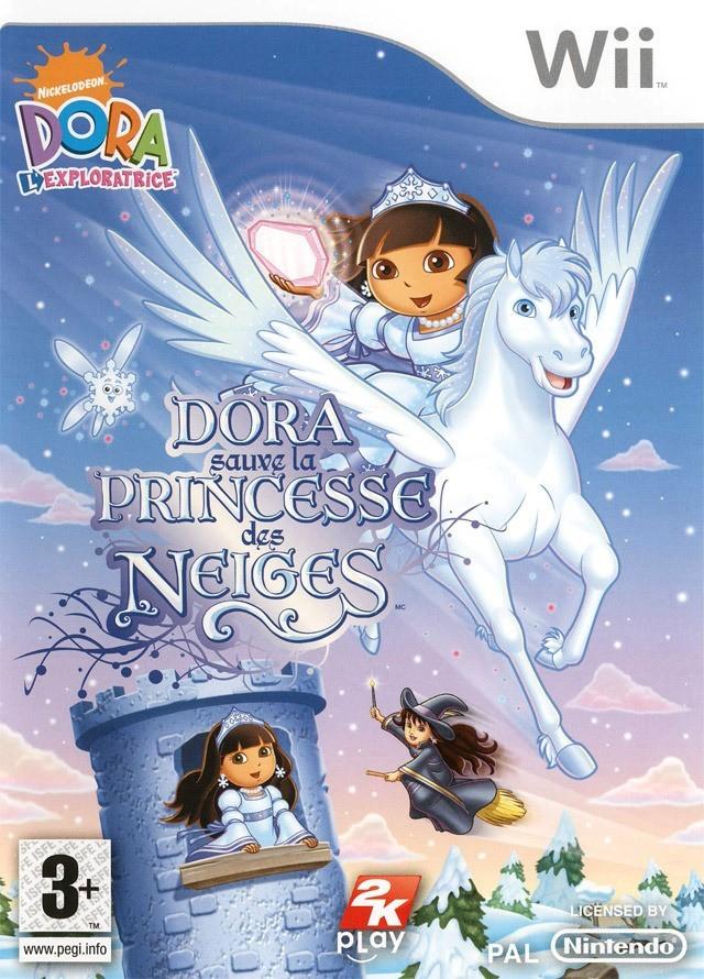 Jaquettes dora sauve la princesse des neiges - La princesse de neige ...