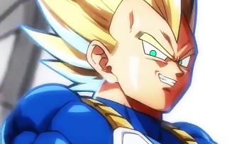 Dragon Ball FighterZ : trailer de gameplay de Vegeta