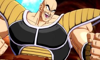 Dragon Ball FighterZ : une vidéo de gameplay avec Nappa