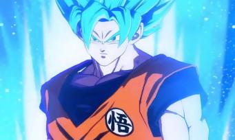 Dragon Ball FighterZ : du gameplay avec Goku Super Saiyan Blue