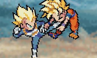 Dragon Ball FighterZ : découvrez l'intro du jeu recréée en 8-bit