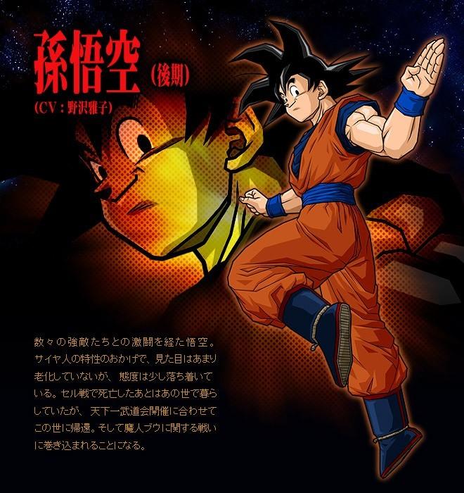 Dbz budokai tenkaichi 3 illustr - Papier peint dragon ball z ...