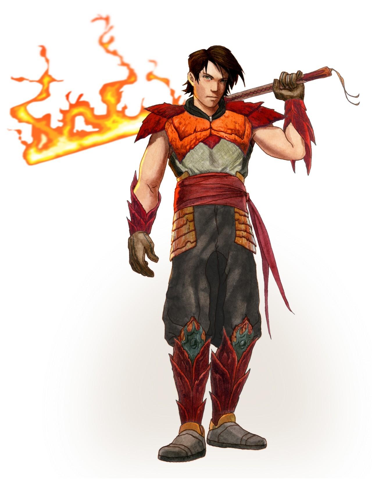 artworks dragon blade : wrath of fire
