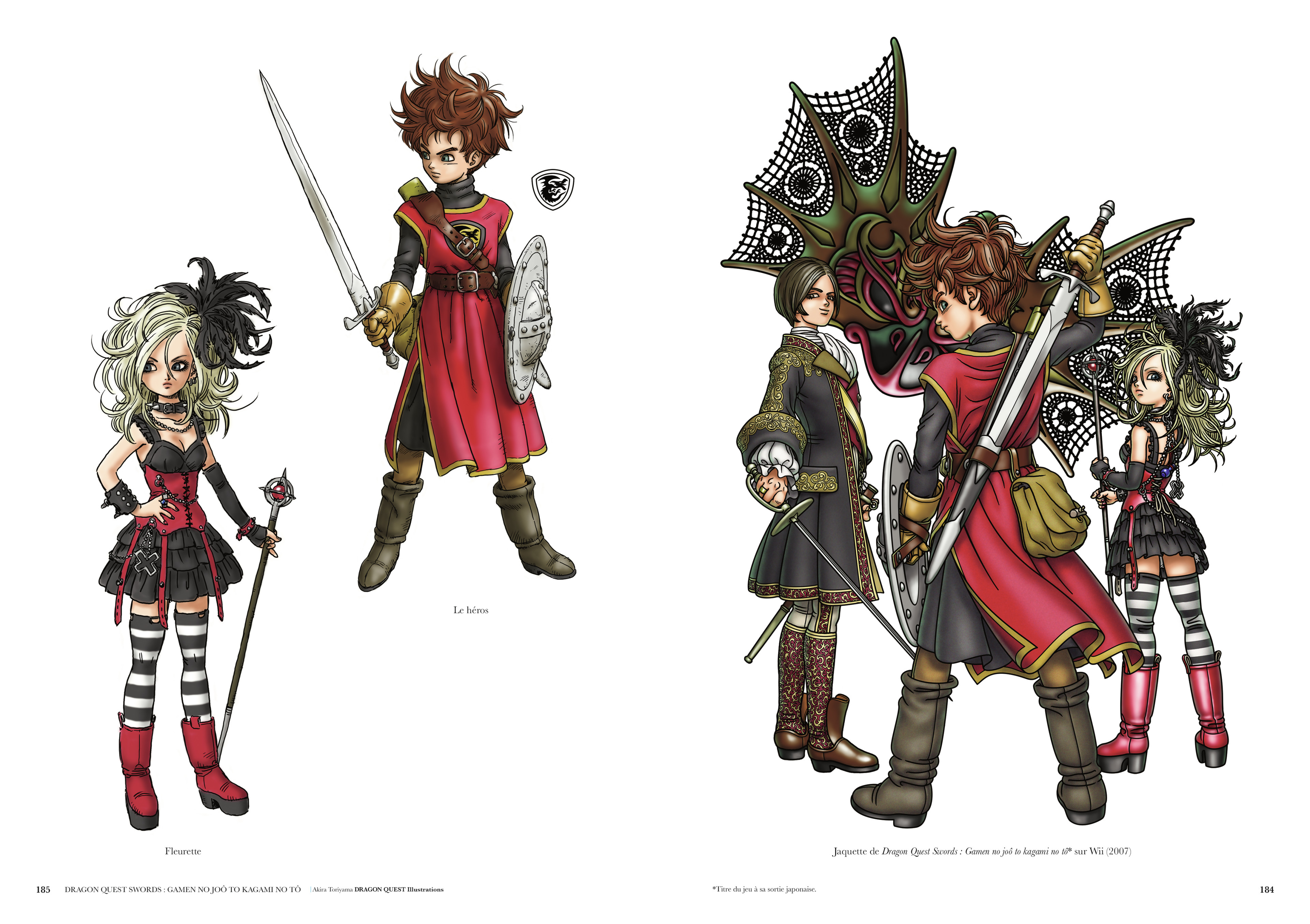 akira toriyama dragon quest illustrations pdf