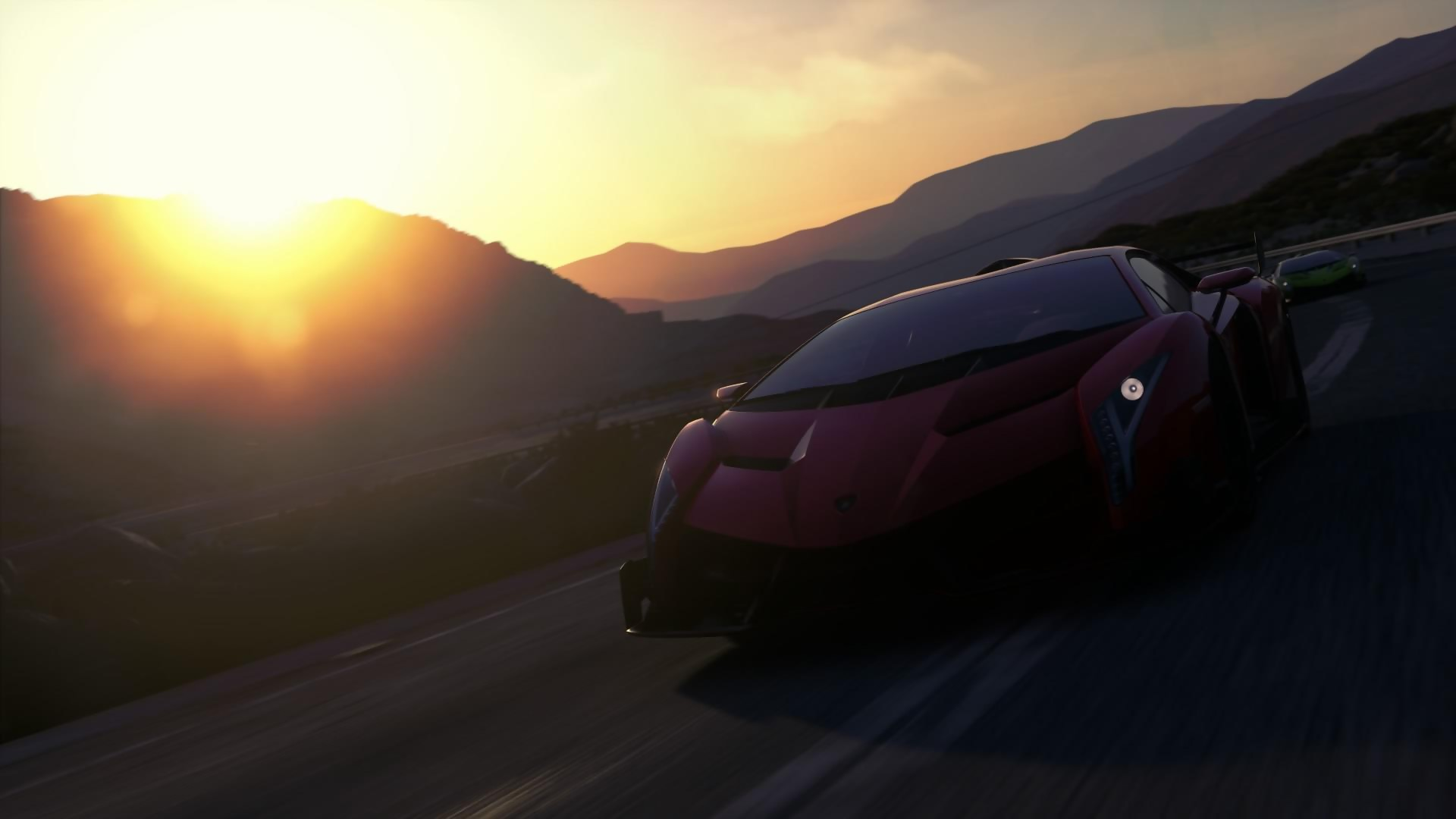 driveclub gameplay de la lamborghini veneno en pleine. Black Bedroom Furniture Sets. Home Design Ideas