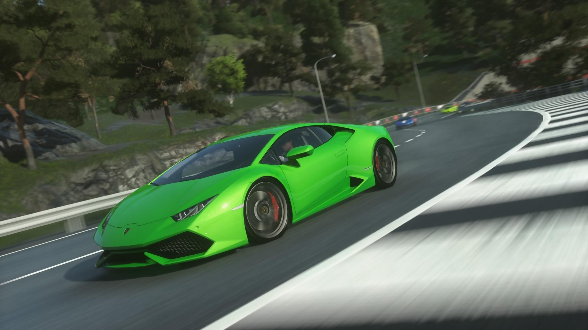 driveclub gameplay avec la lamborghini huracan. Black Bedroom Furniture Sets. Home Design Ideas
