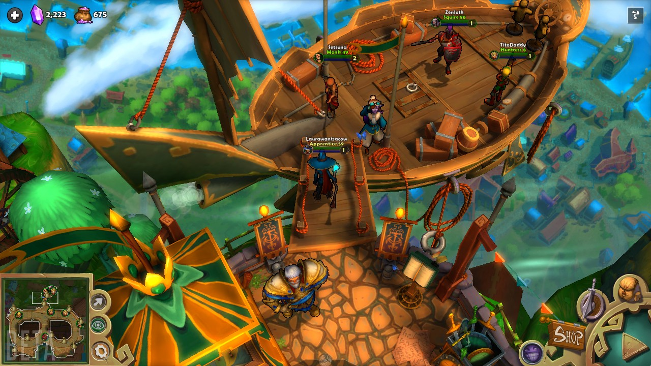 Dungeon defenders 2 tous les d tails du free to play - Dungeon defenders 2 console ...
