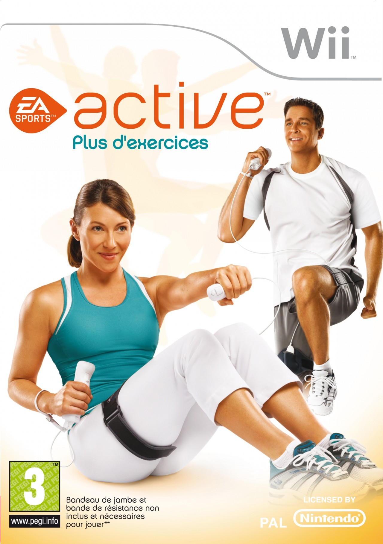test ea sports active fitness wii. Black Bedroom Furniture Sets. Home Design Ideas