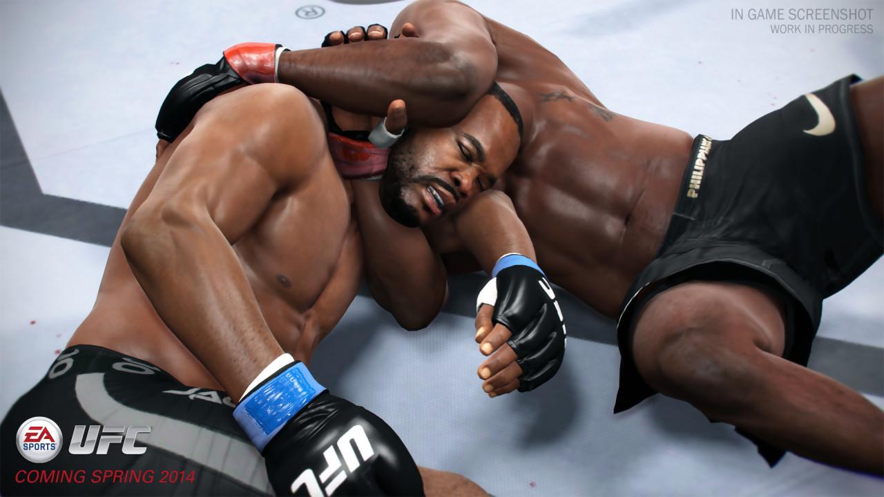 EA Sports UFC impressionne en premier lieu par la qualit\u00e9 de sa