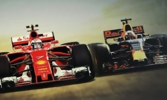F1 2017 : un trailer de gameplay sur la chanson Born to be Wild