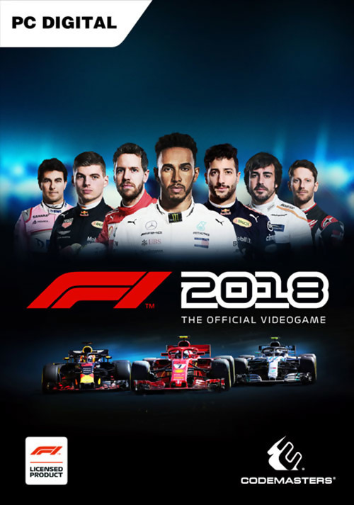 f1 2018 un trailer de lancement rempli de gameplay. Black Bedroom Furniture Sets. Home Design Ideas